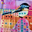 "Thumbnail: Silk Scarf ""Chickadee"""