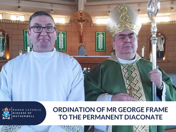 George Frame ordained to the Permanent Diaconate
