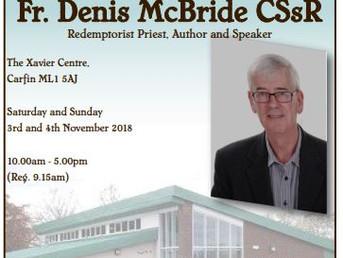 Retreat with Fr Denis McBride CSsR