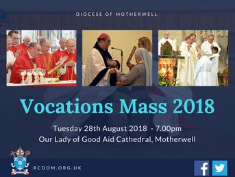 Vocations Mass 2018