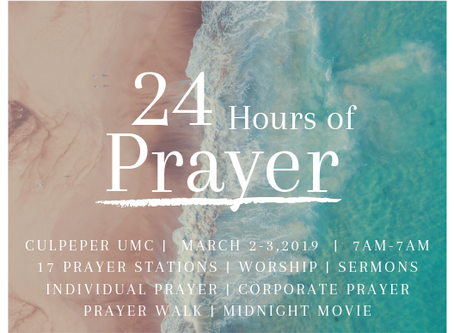 What to Expect at the Prayer Event