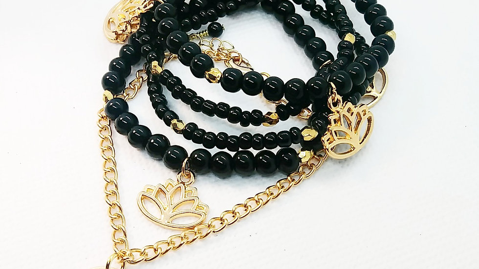 Lotus stack and chain set