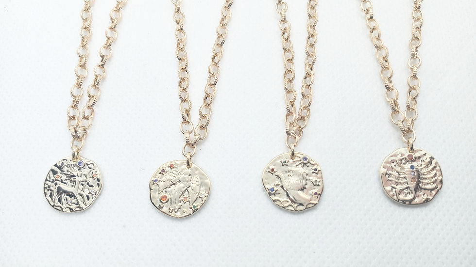 Womens Zodiac Necklaces