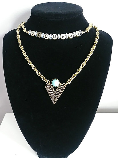 """Goddess"" Necklace"