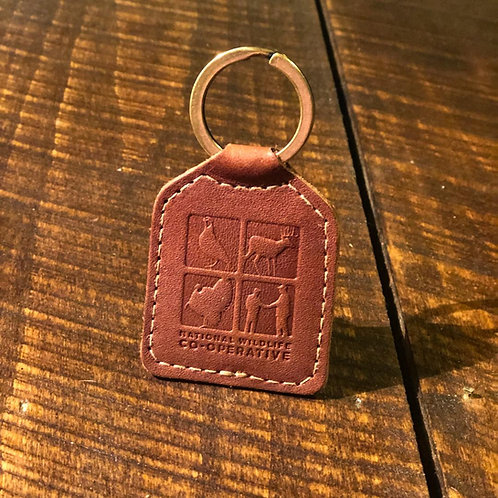 NWC Leather Key Chain