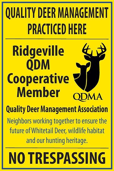 Ridgeville QDM QDMA Property Sign.jpg