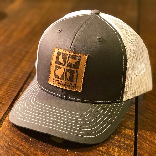 NWC Leather Patch Trucker Hat