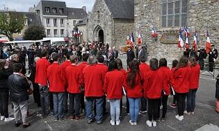 Commémoration de la journée des déportés à Crozon