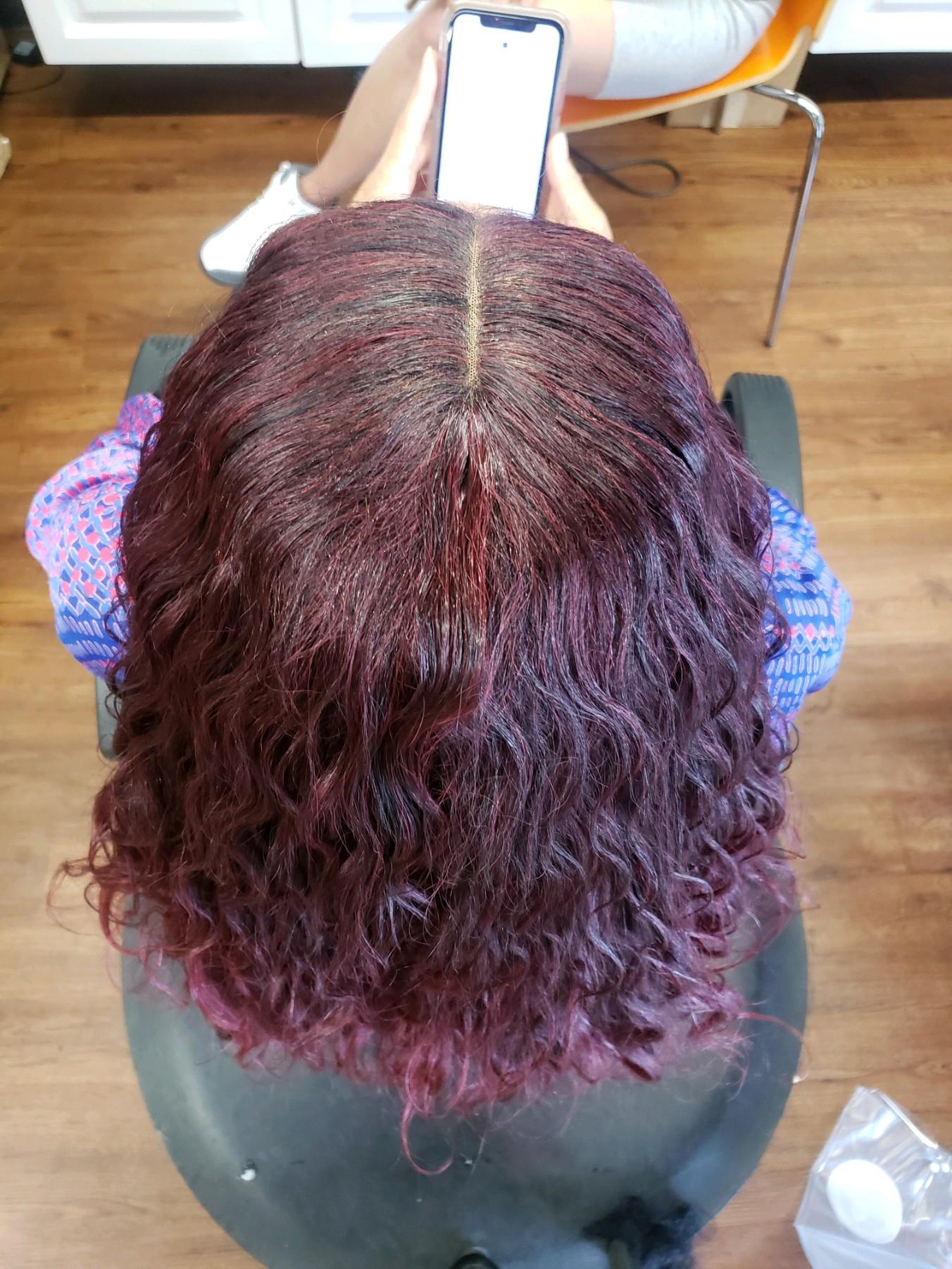 Wig install - sew in (no glue)