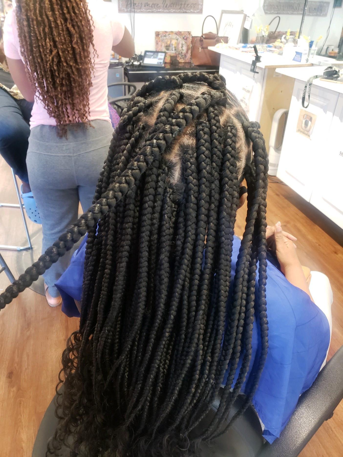 Large goddess braids (4-5 hrs)