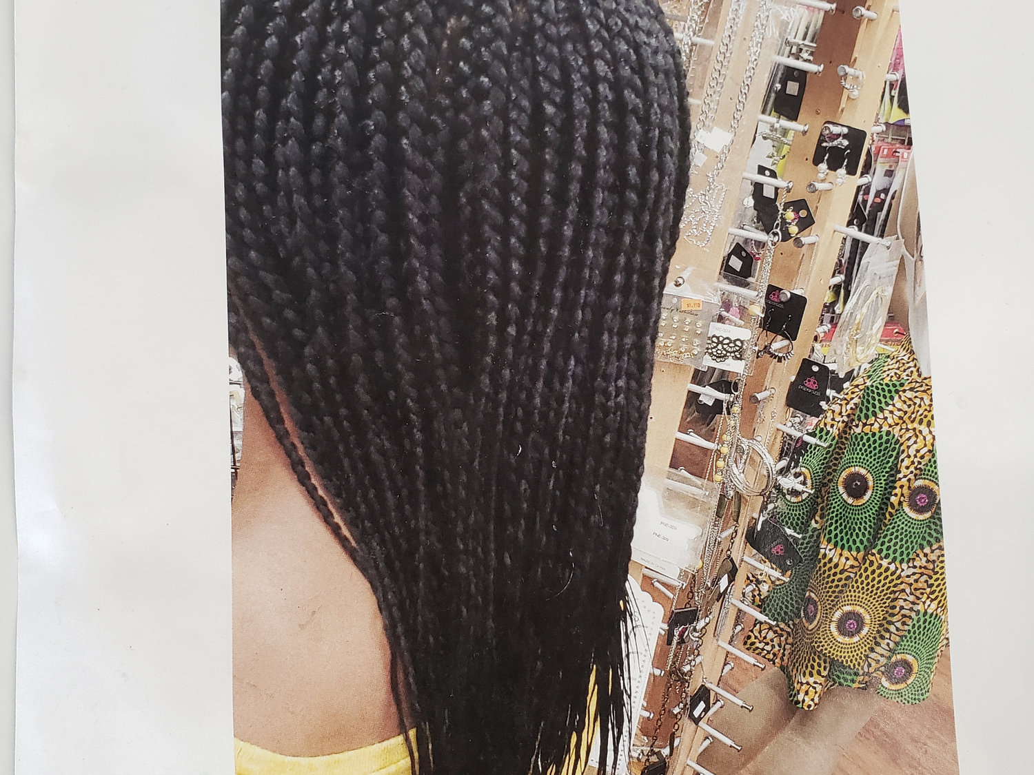 """Ind/box braids with 40"""""""