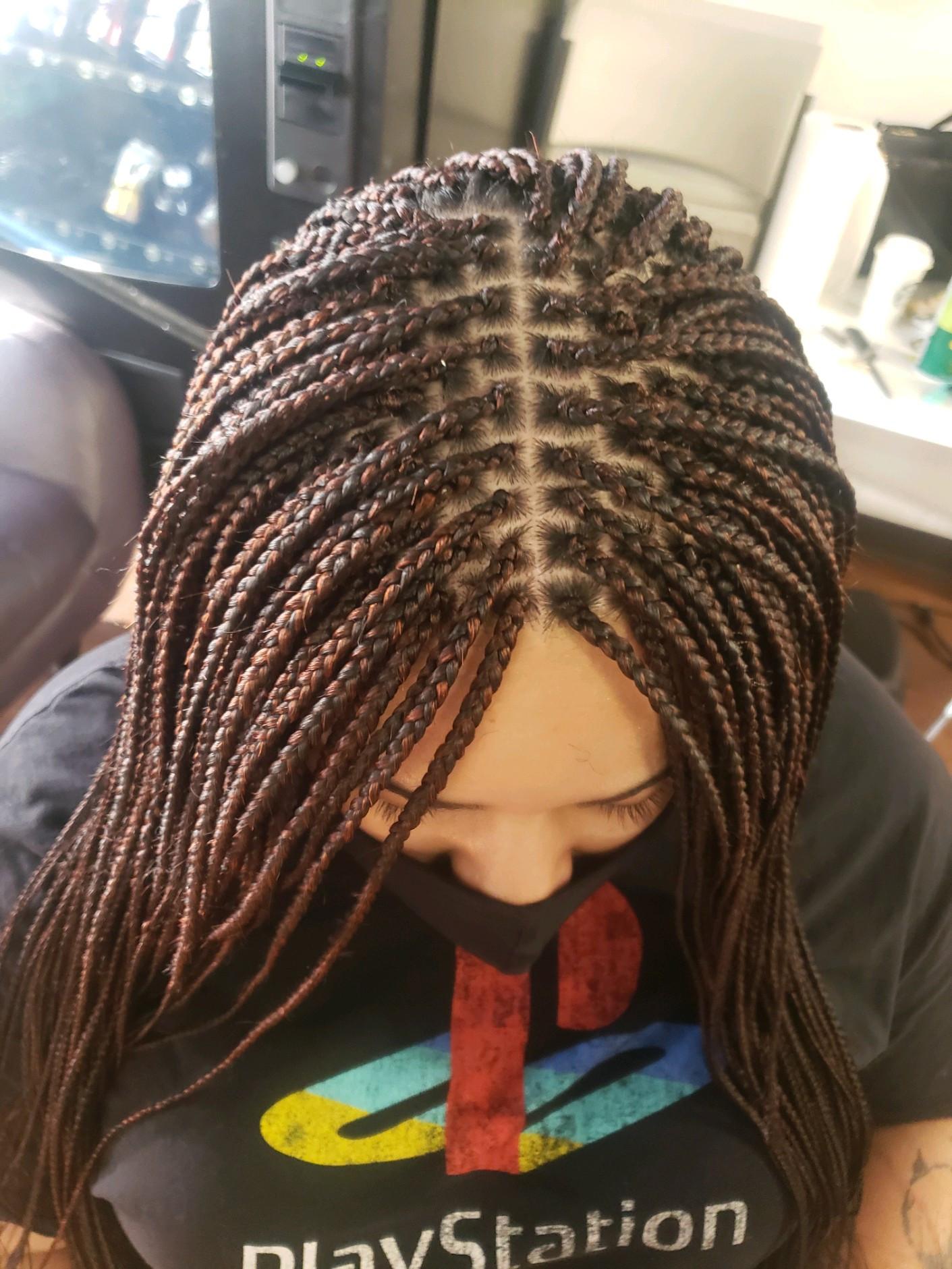 """Small indi/box braids 48""""(6_7hours)"""