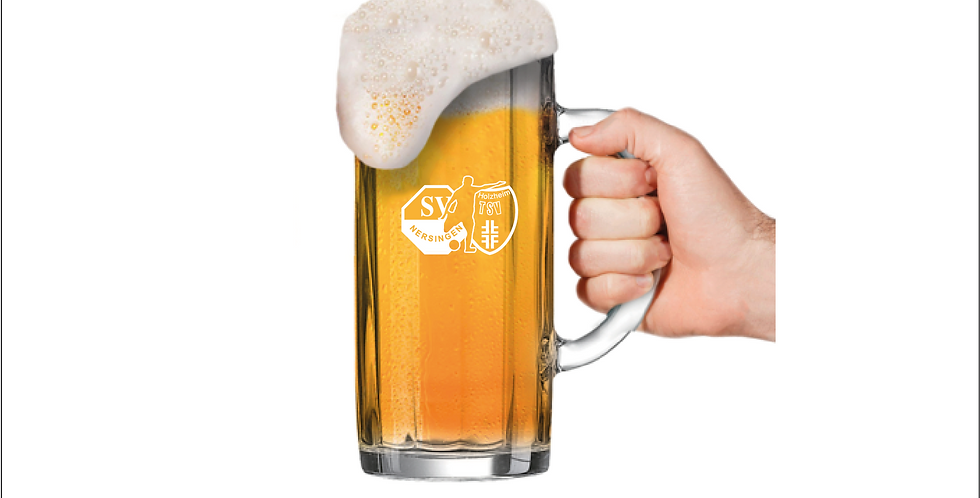 SGM Nersingen/Holzheim 0,5L Bierkrug