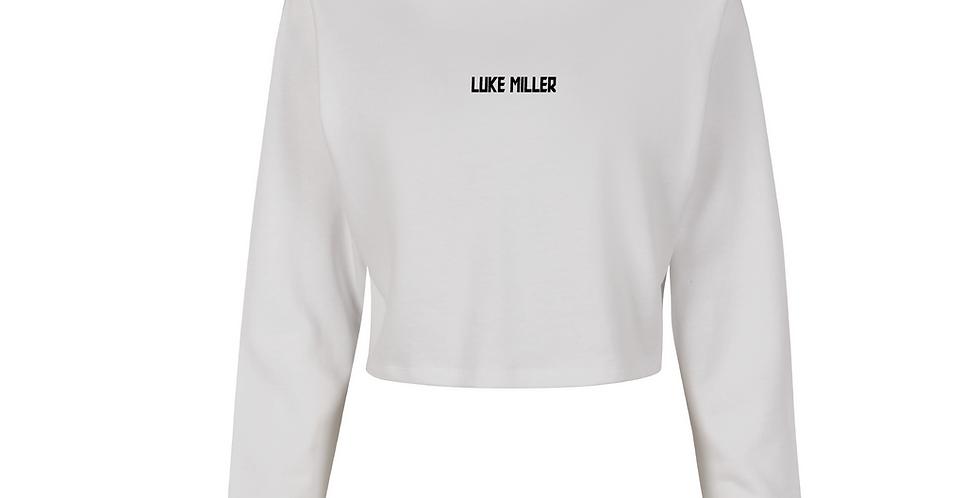 Luke Miller Basic Crop Hoodie