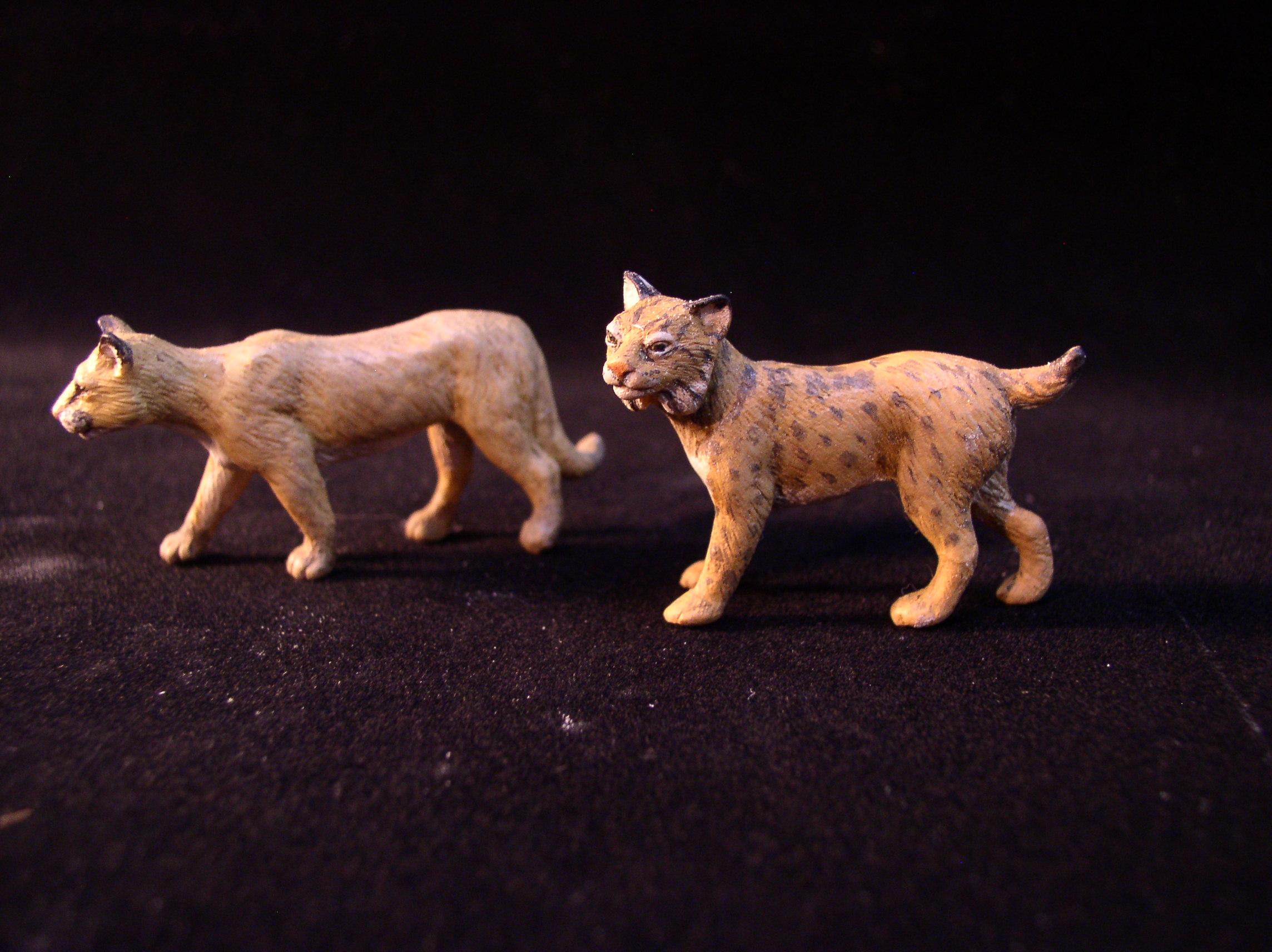 Cougar & lynx toys