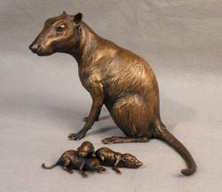 Protungulatum, Smithsonian bronze