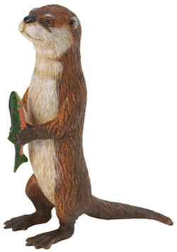 River otter toy