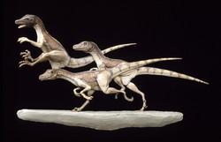 Deinonychus bas relief