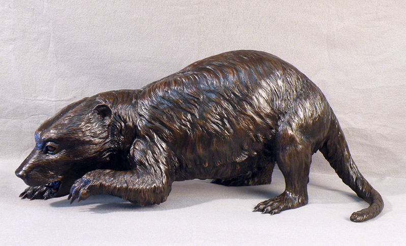 Conoryctes, Smithsonian bronze