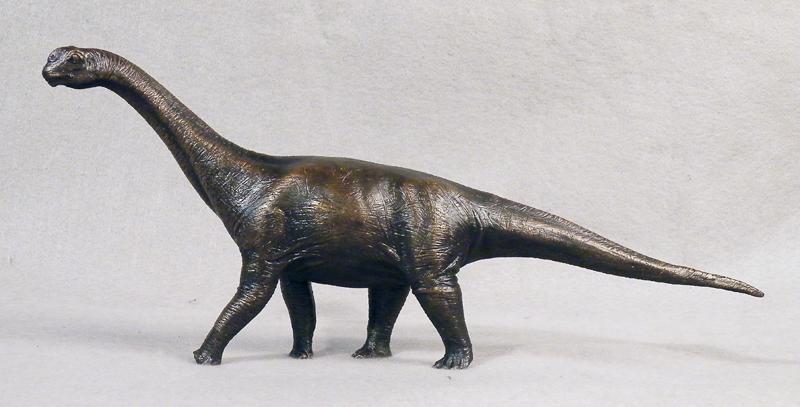 Camarasaurus, Smithsonian bronze