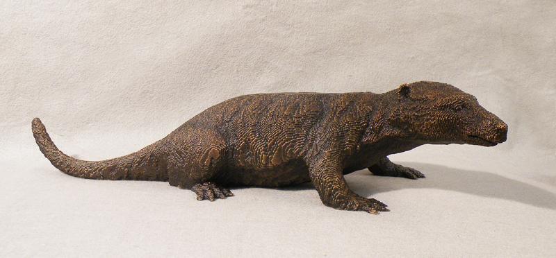 Steropodon, Smithsonian bronze