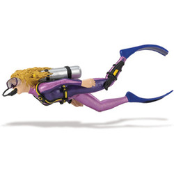 Scuba diver toy