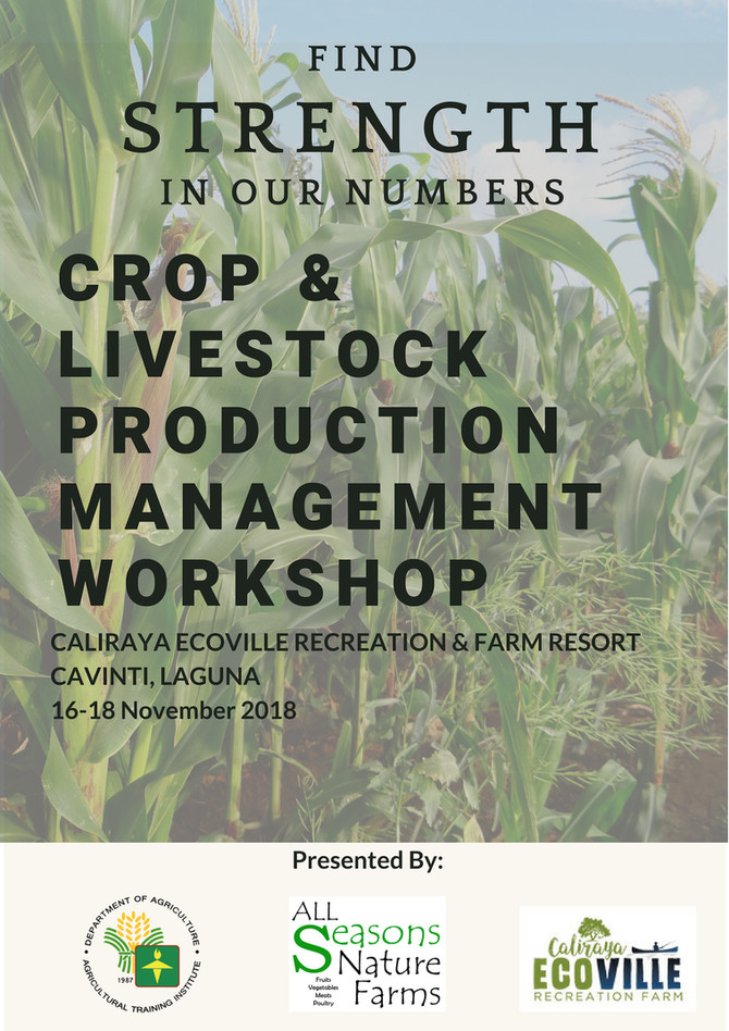 Workshop on developing the Organic Market thru a Stable Supply