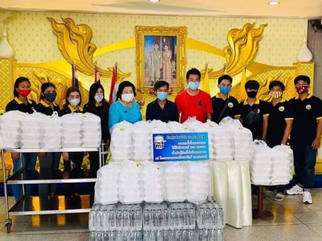 โครงการสนับสนุนทีมแพทย์-พยาบาล ต่อสู้วิกฤต COVID-19 วันที่ 17เมษายน 2563 ณ โรงพยาบาลสวรรค์ประชารักษ์