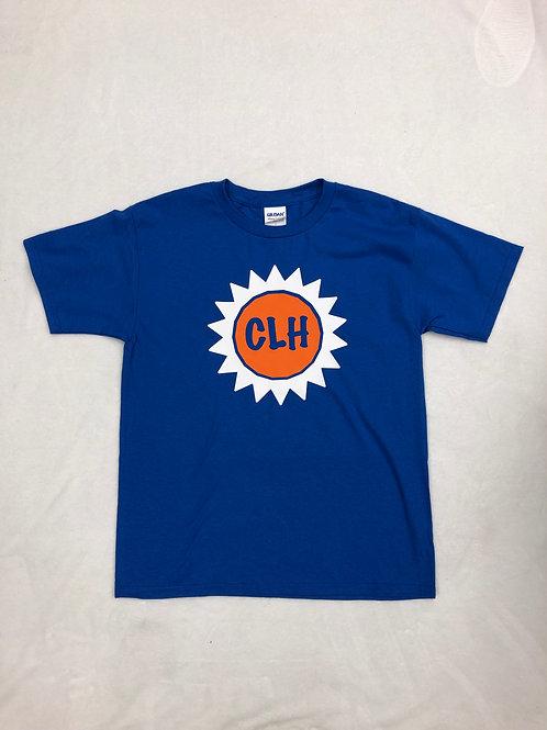 Camp Longhorn Royal Blue Sunshine Shirt