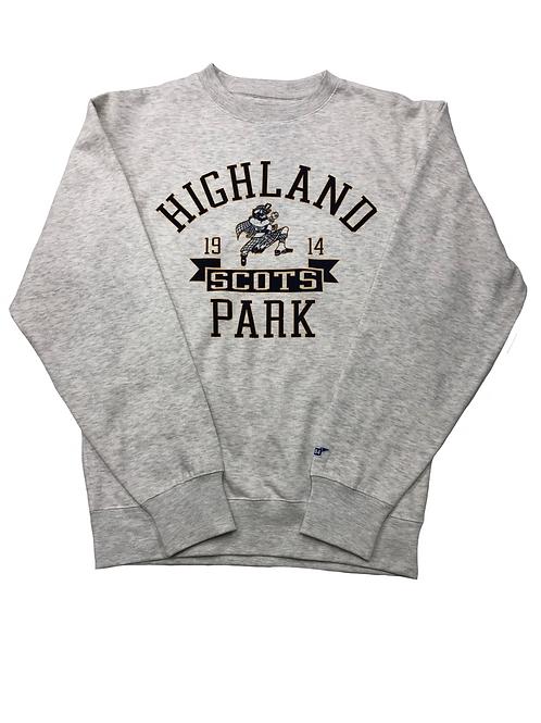 Highland Park Classic Crew Sweatshirt - Oatmeal