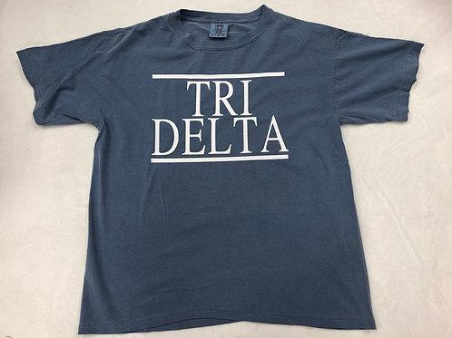 Delta Delta Delta Comfort Colors Short Sleeve Tee