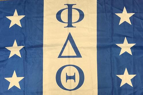 Phi Delta Theta Fraternity Flag