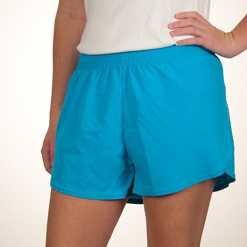 Youth Turquoise Summer Short Plain