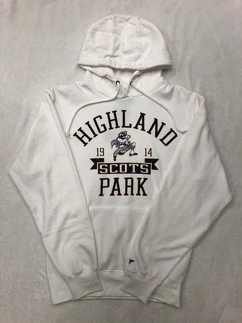 Highland Park Classic Hoodie Sweatshirt - White