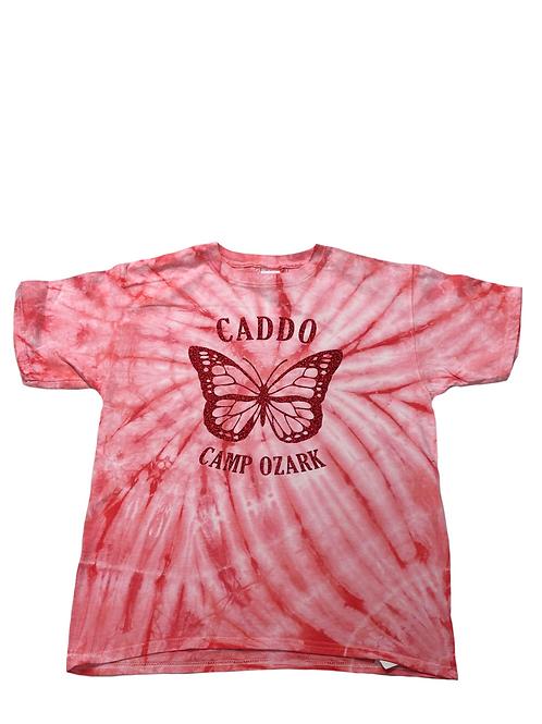 Caddo Tie Dye Sparkle Butterfly Tee