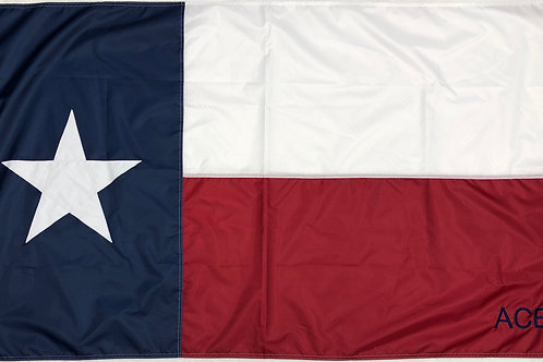 Personalized 2X3 Texas Flag