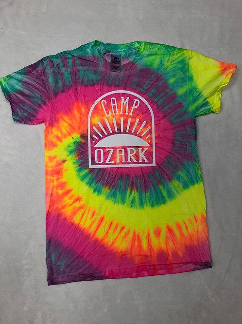 Camp Ozark Tie Dye Sunrise Shirt