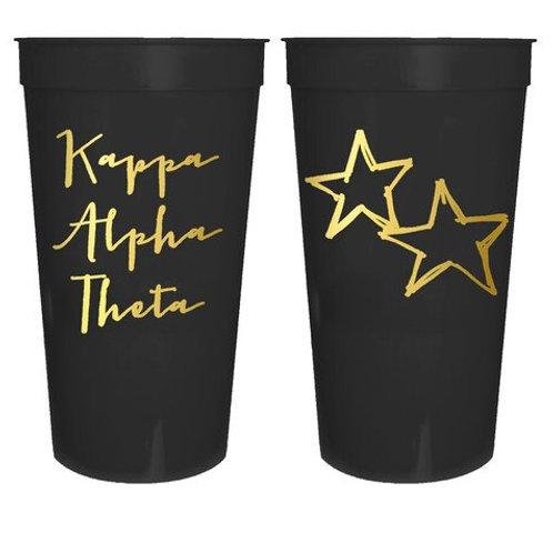Kappa Alpha Theta Plastic Tumbler