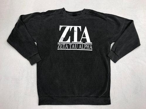 Zeta Tau Alpha Crew Neck Sweatshirt