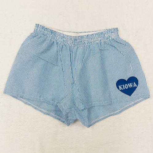 Kiowa (Camp Mystic) Seersucker PJ Shorts