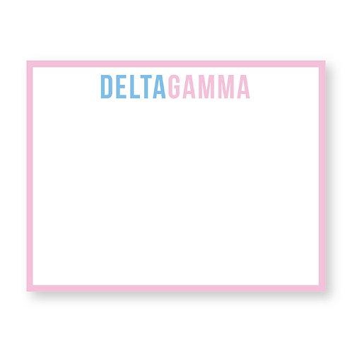 Delta Gamma Notecards - Set of 10