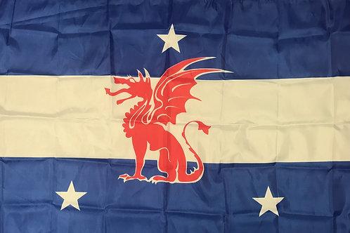 Beta Theta Pi Fraternity Flag