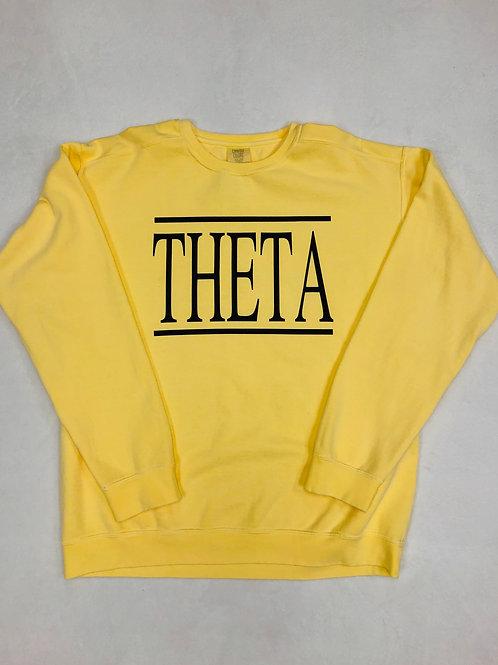 Kappa Alpha Theta Comfort Colors Sweatshirt
