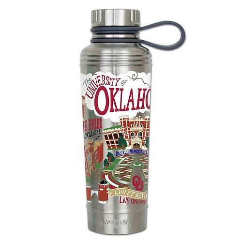 University of Oklahoma Stainless Steel Water Bottles
