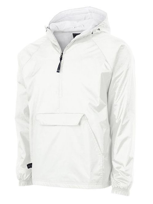 Adult Blank 1/4 Zip Rain Jacket