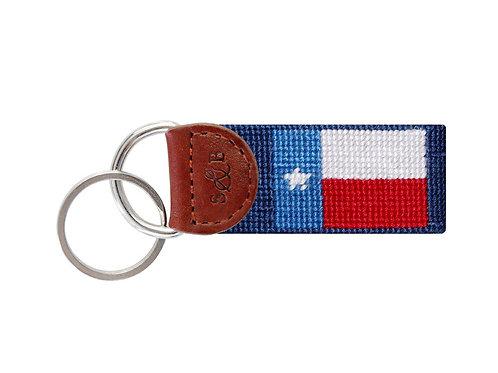 Smathers and Branson Texas Flag Key Fob