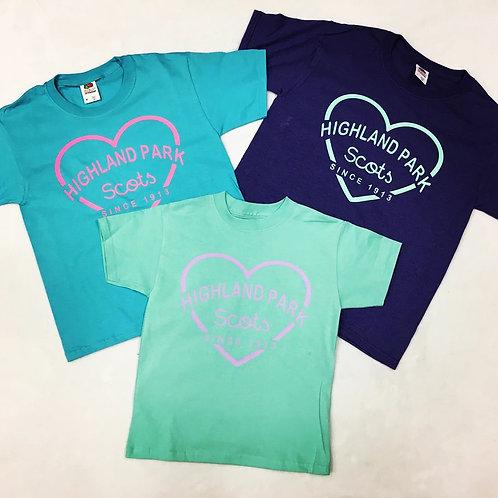 Highland Park Heart Shirt