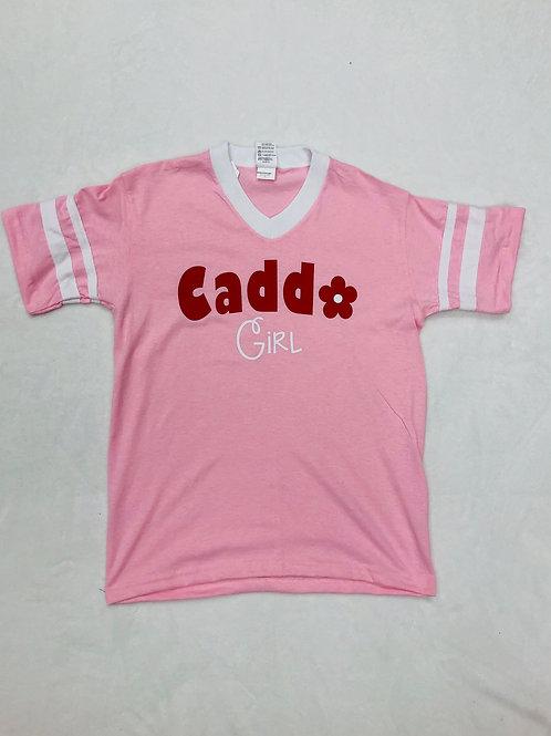 Caddo Girl V Neck Shirt
