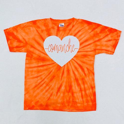 Comanche Heartbeat Tie Dye Tee