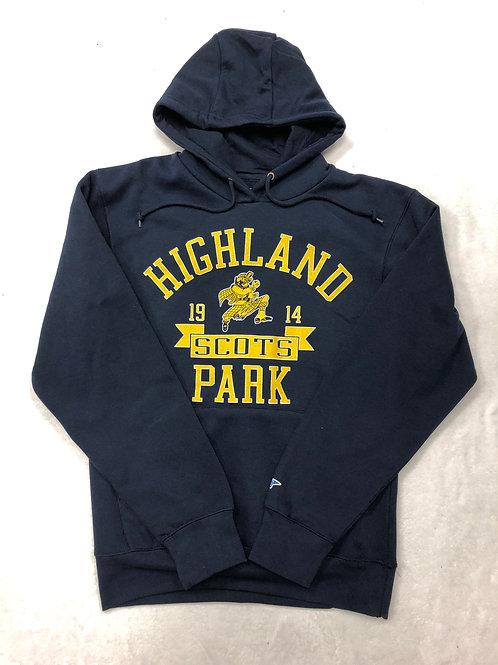 Highland Park Classic Hoodie Sweatshirt - Navy